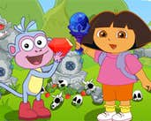 Play Dora Boots Forest Find Treasure