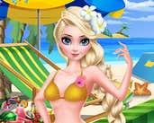Play Elsa Beach Show