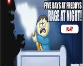 Play Five Day At Freddys Rage At Night