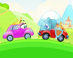 Play Wheely 6: Fairytale