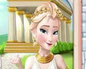 Play Elsa time travel ancient Greece
