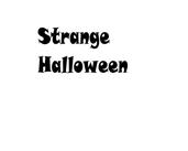 Play Strange Halloween