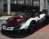 Play Lamborghini Police Puzzle