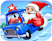 Play Santa Truck Rider Driving 3D