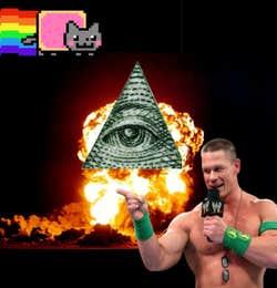 Play Super Illuminati John Cena MeowFest