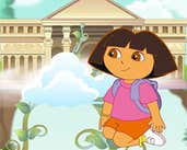 Play Dora Find Flying Castle