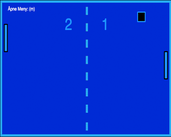 Play Pong-Blue Classic