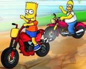 Play Simpson Super Race