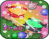 Play Christmas slingshot