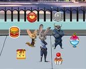 Play Zootopia Dessert Battle