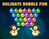 Play Holidays Bubble Fun