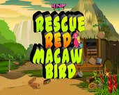 Play Knf Rescue Red Macaw Bird