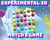 Play Experimental Relaxing 3D 3-Match