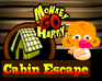 Play Monkey GO Happy Cabin Escape