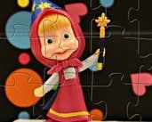 Play Masha Hokus Pokus Puzzle