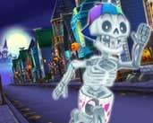 Play Angry Gran Run Halloween Village