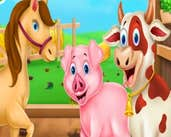 Play Animals Farm Cleaning