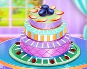 Play Fruit Chocolate Cake Cooking