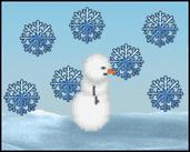 Play ❄ Super Snowy Shape Dodge ❄