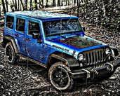 Play Wrangler Jeep Black Bear