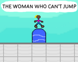 Play The Woman Who Can't Jump