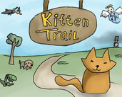 Play kitten trail