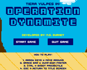 Play Tiera Vulpes in: Operation Dynamite